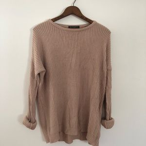 BRADNY MELVILLE PALE PINK SWEATER!